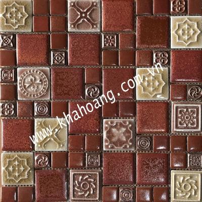 (30x30)Gạch Mosaic Gốm 23022