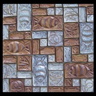 Gạch Mosaic Gốm PR - 1051 30x30