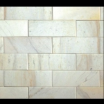 Đá Trang Trí D49-50 Mài bóng trắng sữa 7.5x22 - 10x20