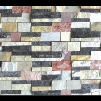 Đá Trang Trí D75-76 Đá ghép 4 màu 10x45