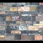 Đá Trang Trí D83-84 Đá ghép đa sắc 10x50