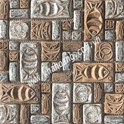 (30x30)Gạch Mosaic Gốm 1051